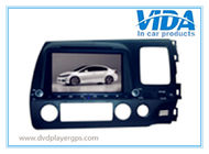 China 7'' Two DIN Car DVD/GPS Navagation special for HONDA Civic(right driving) company
