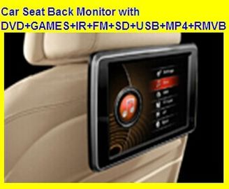 "China 10.1"" Headrest DVD Player with with DVD+GAMES+IR+FM+SD+USB+MP4+RMVB factory"