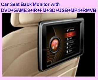 "China 10.1"" Headrest DVD Player Digital touch panel with with DVD+GAMES+IR+FM+SD+USB+MP4+RMVB factory"