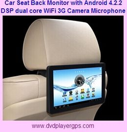China Brand new High resolution 10.1 inch Android 4.2.2 car back seat Monitor with Wifi, 3G distributor