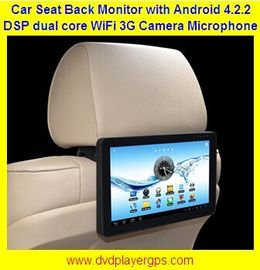 "China 10.1""Car Back Seat Monitor With WIFI,3G,Capacitive Touch Screen support 1080P distributor"